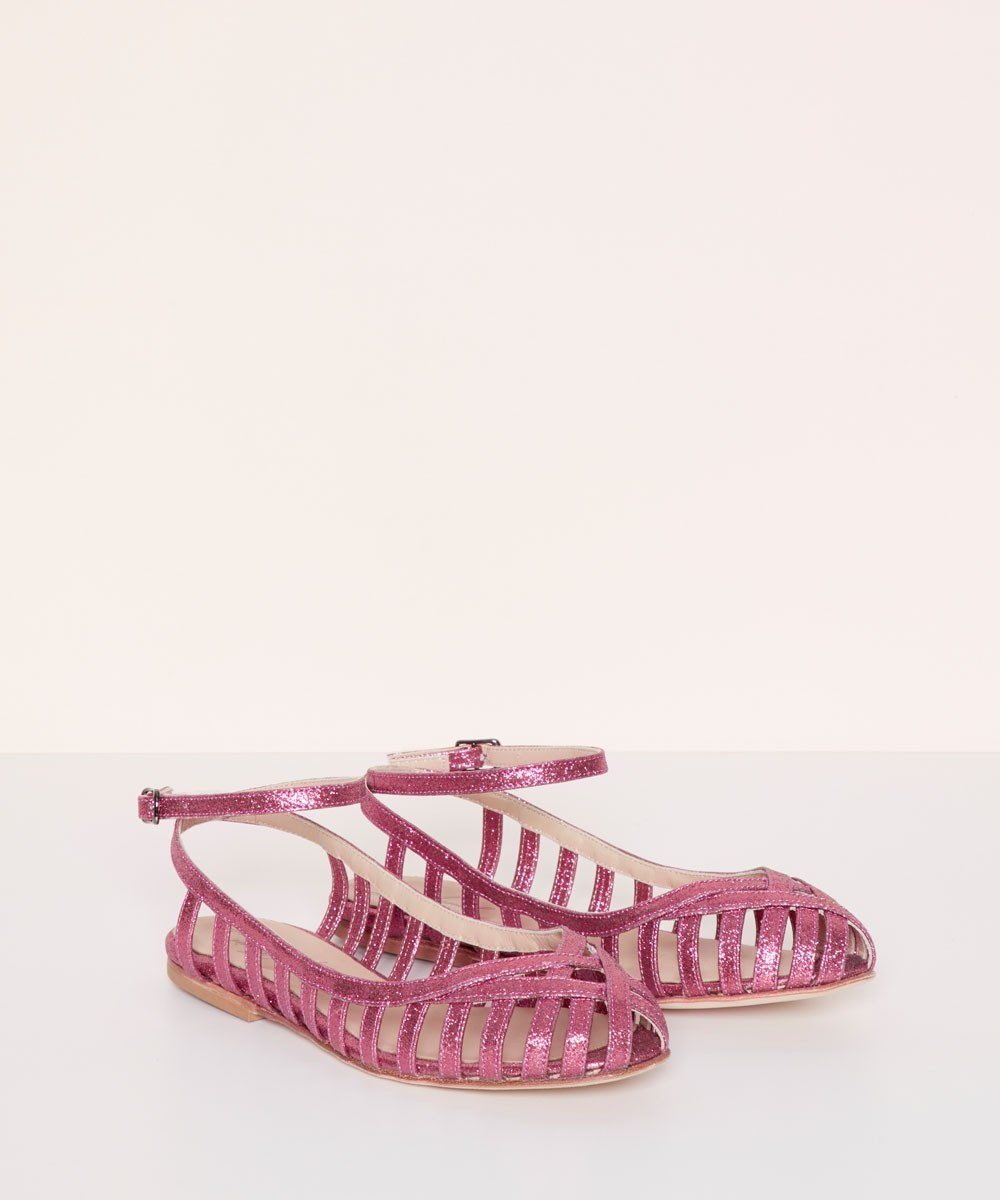 MULTISTRIPED BALLERINA - LA...