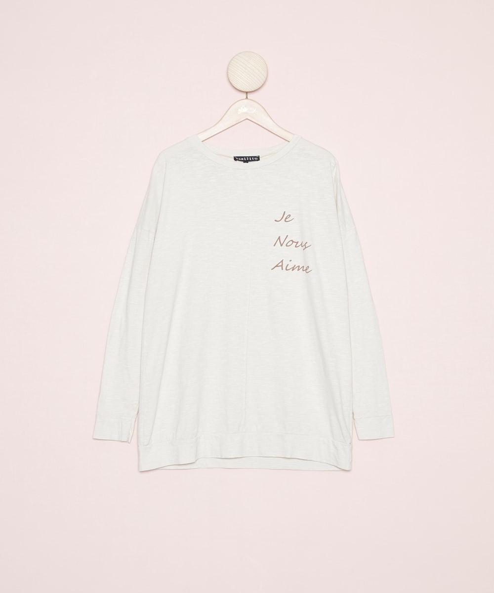 Camiseta Ecrú
