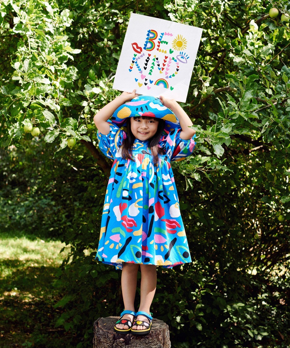 Kid Graphic Dress