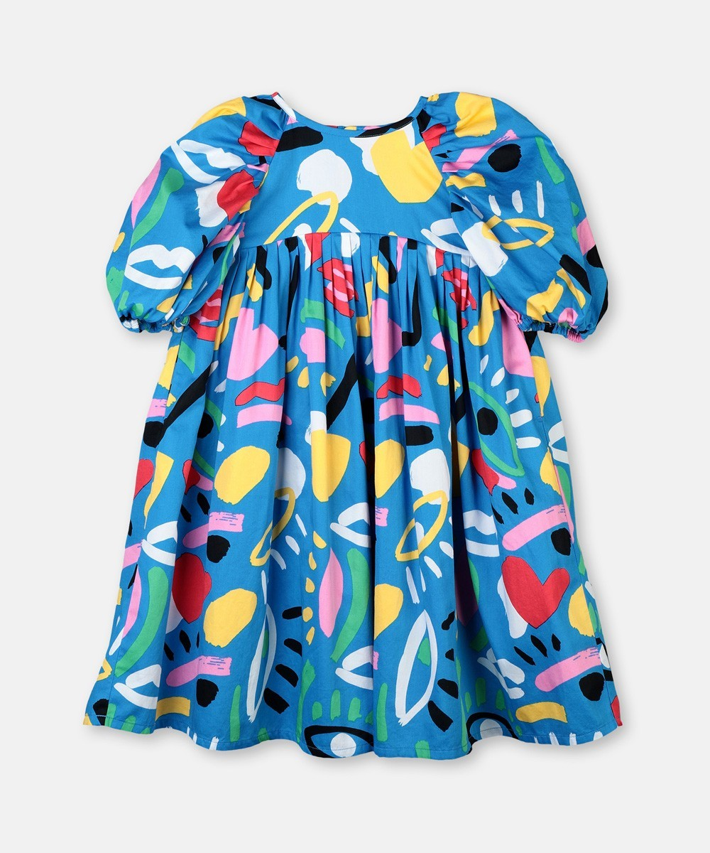 Vestido Kids Graphic