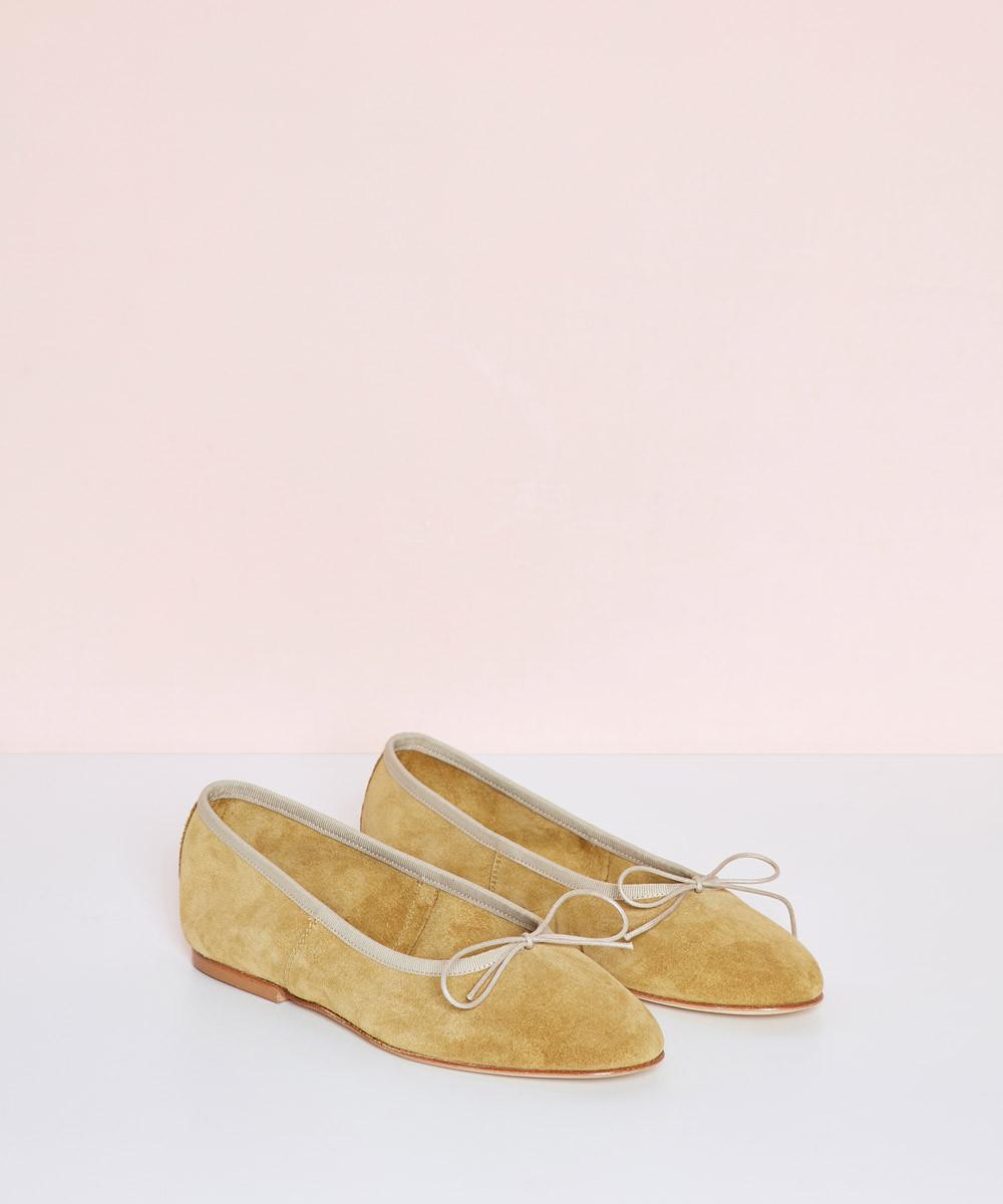 Bailarina Piel Vintage