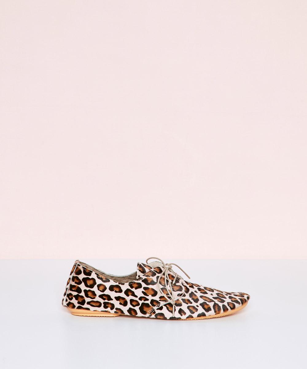 Zapato Soft Leopardo Rosa -...