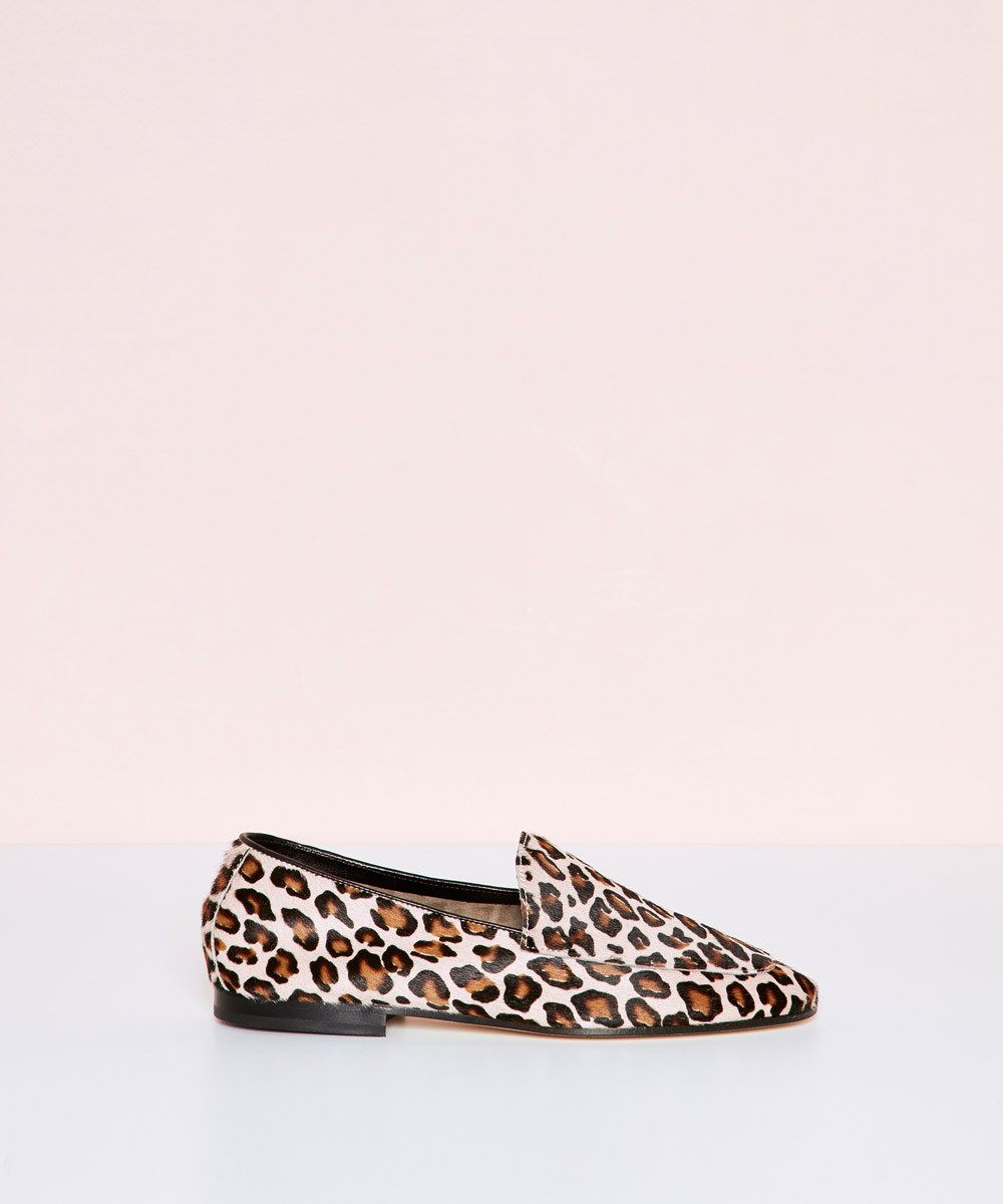 Pink Leopard Loafer - La...