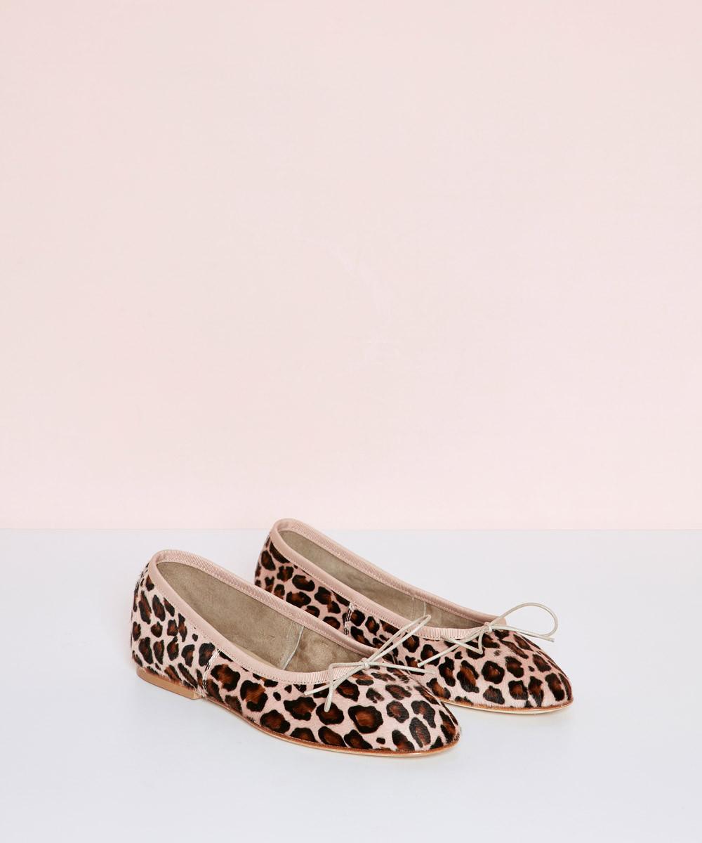Pink Leopard Ballerina - La...