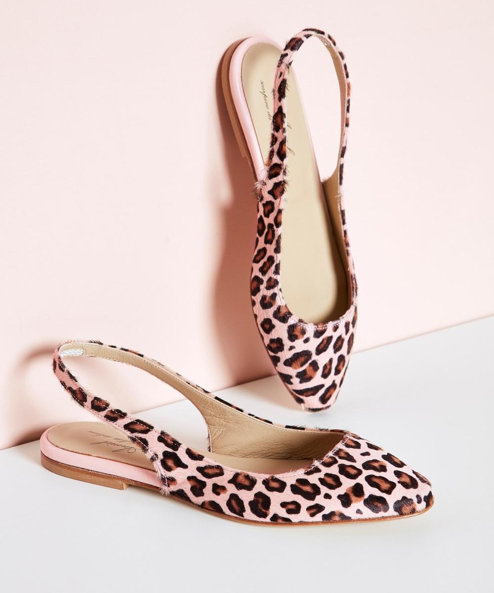 Zapato Leopardo Rosa - La...