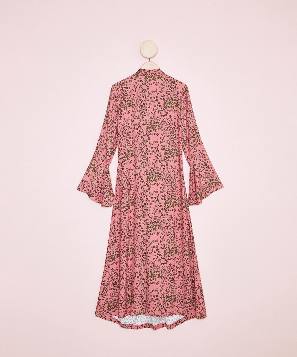 Vestido Midi Tréboles