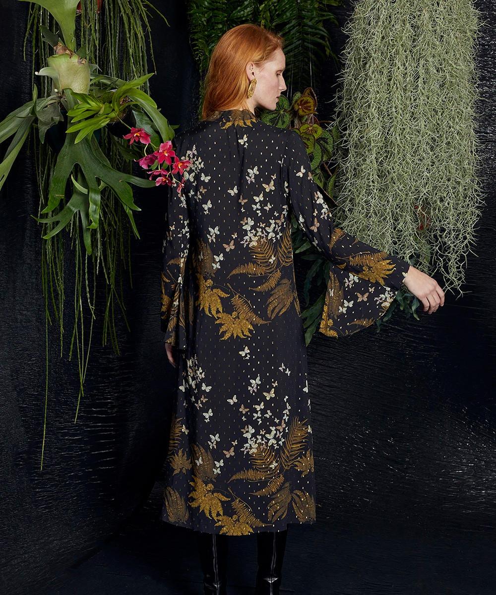 Vestido Midi Luciérnagas