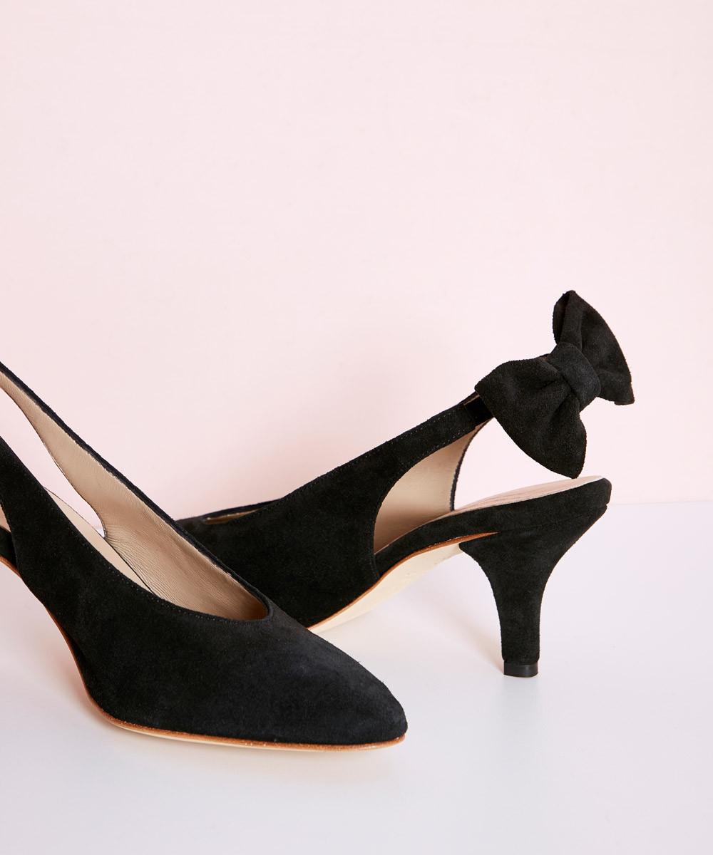 Zapato Ante Negro