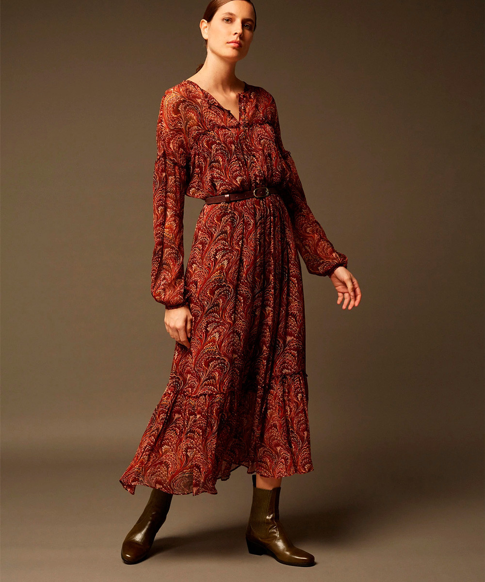 Vestido Litchi