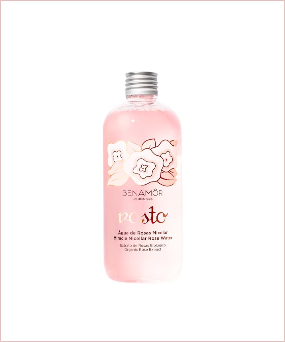 Rosto Agua Micelar de Rosa