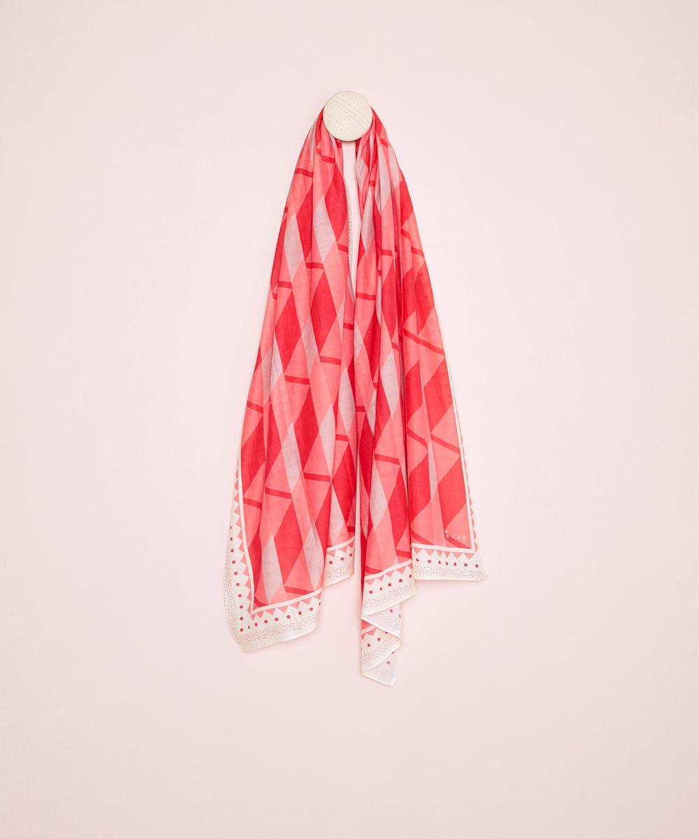 Foulard Rojo Rosa - La...