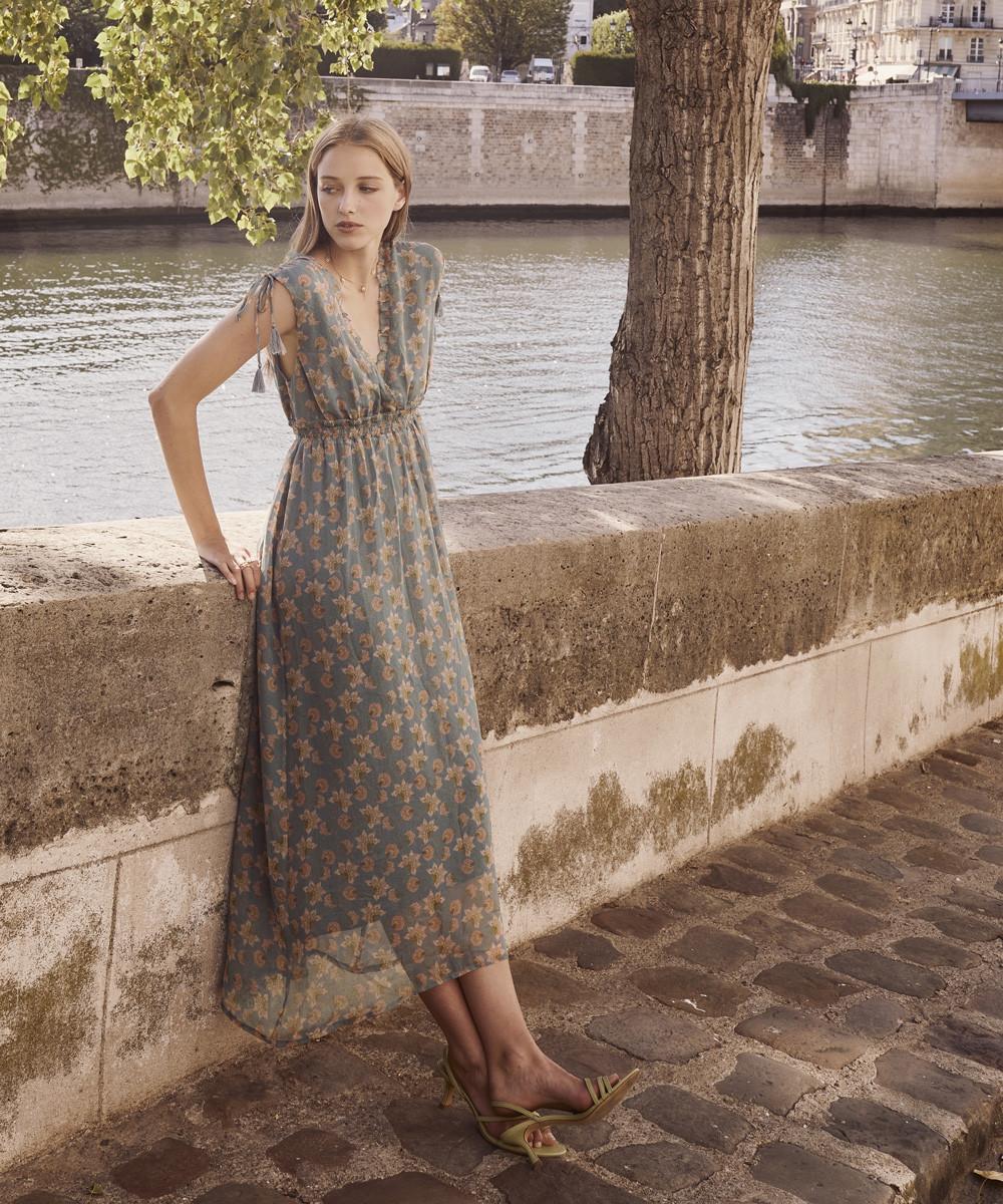 Vestido Plumeria