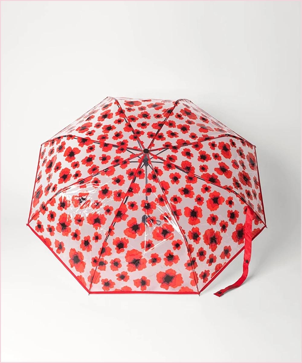 Paraguas Transparente Poppy