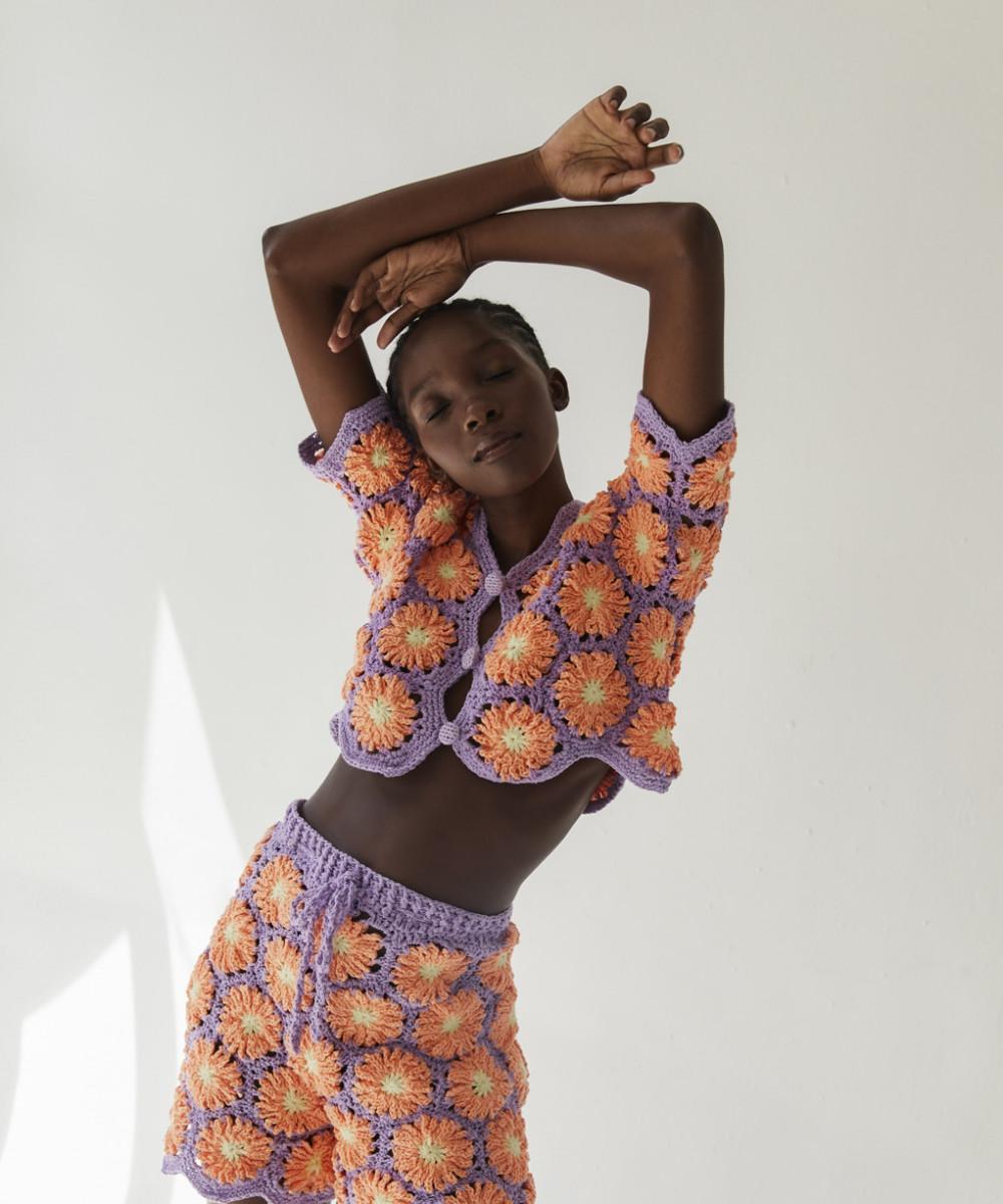 Palmira Crochet Top