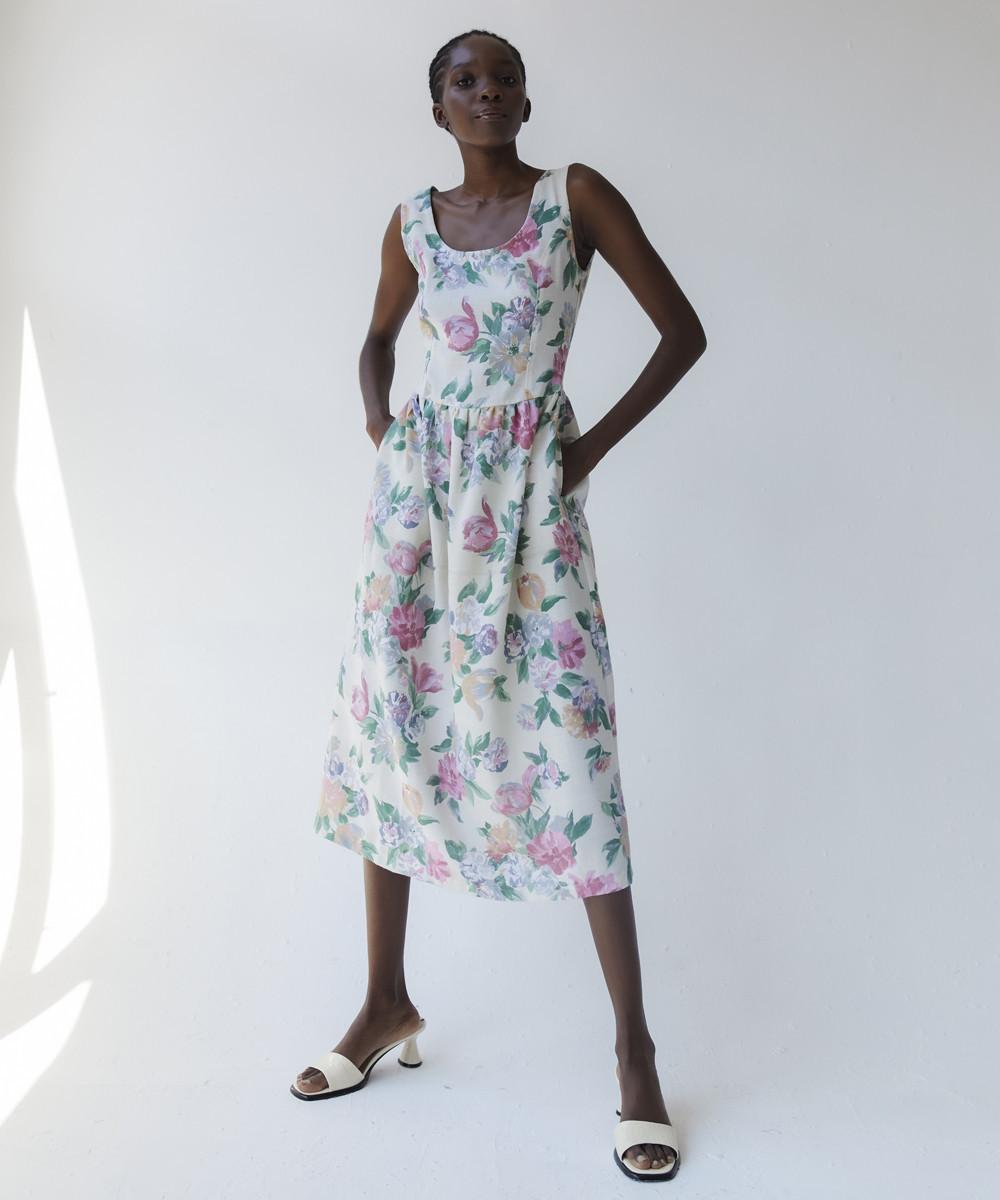 Marita Linen Dress