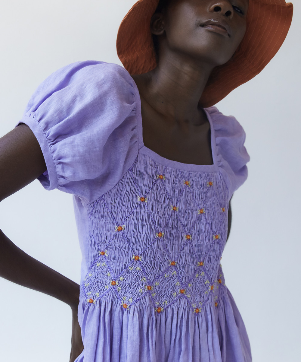 Juani Linen Dress