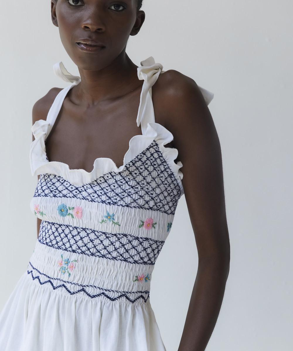 Ami Linen Dress