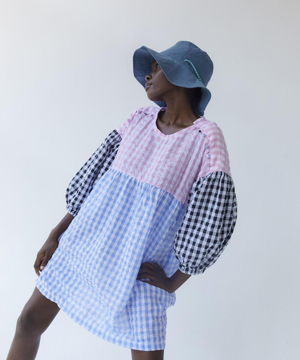 Catarina Cloque Dress