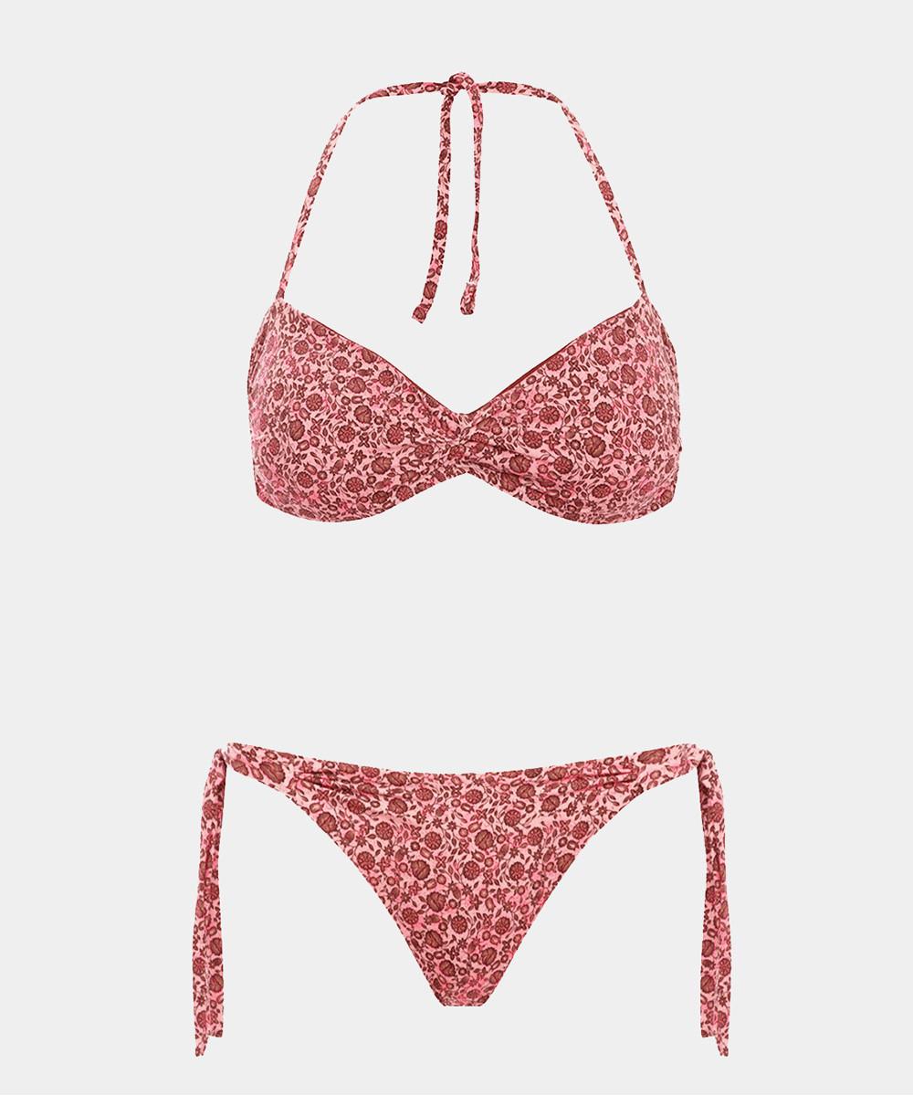 Bikini Bandeau Coral