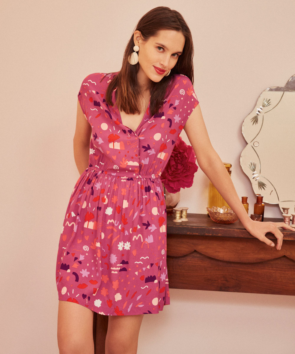 Vestido Rosette