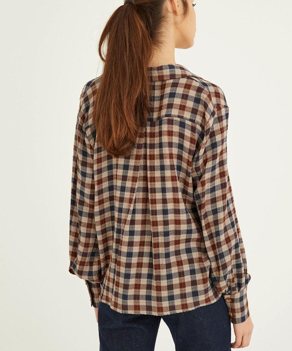 Camisa Solapas Vichy