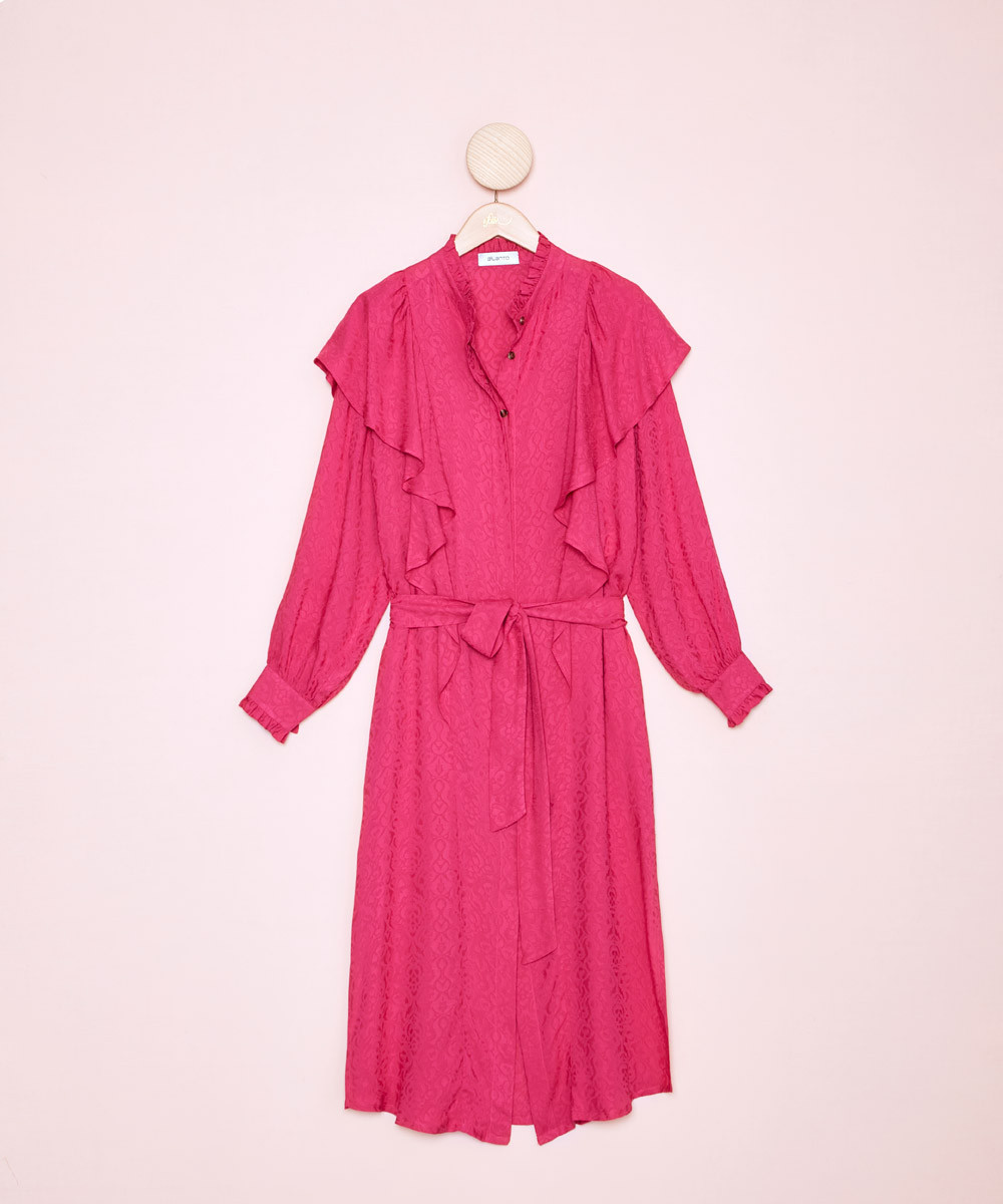 Vestido Fucsia - La Folie...