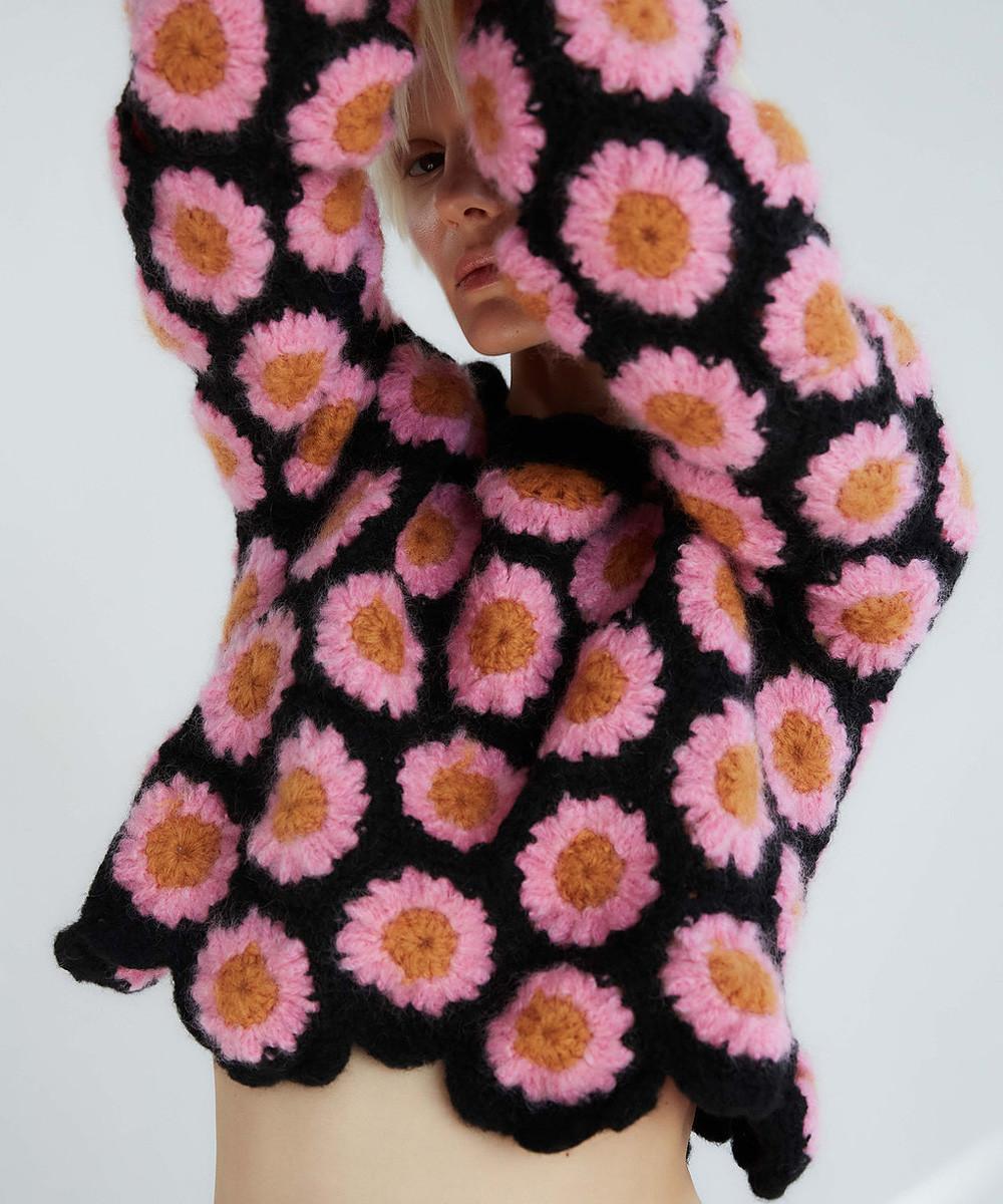 Alana Crochet Sweater