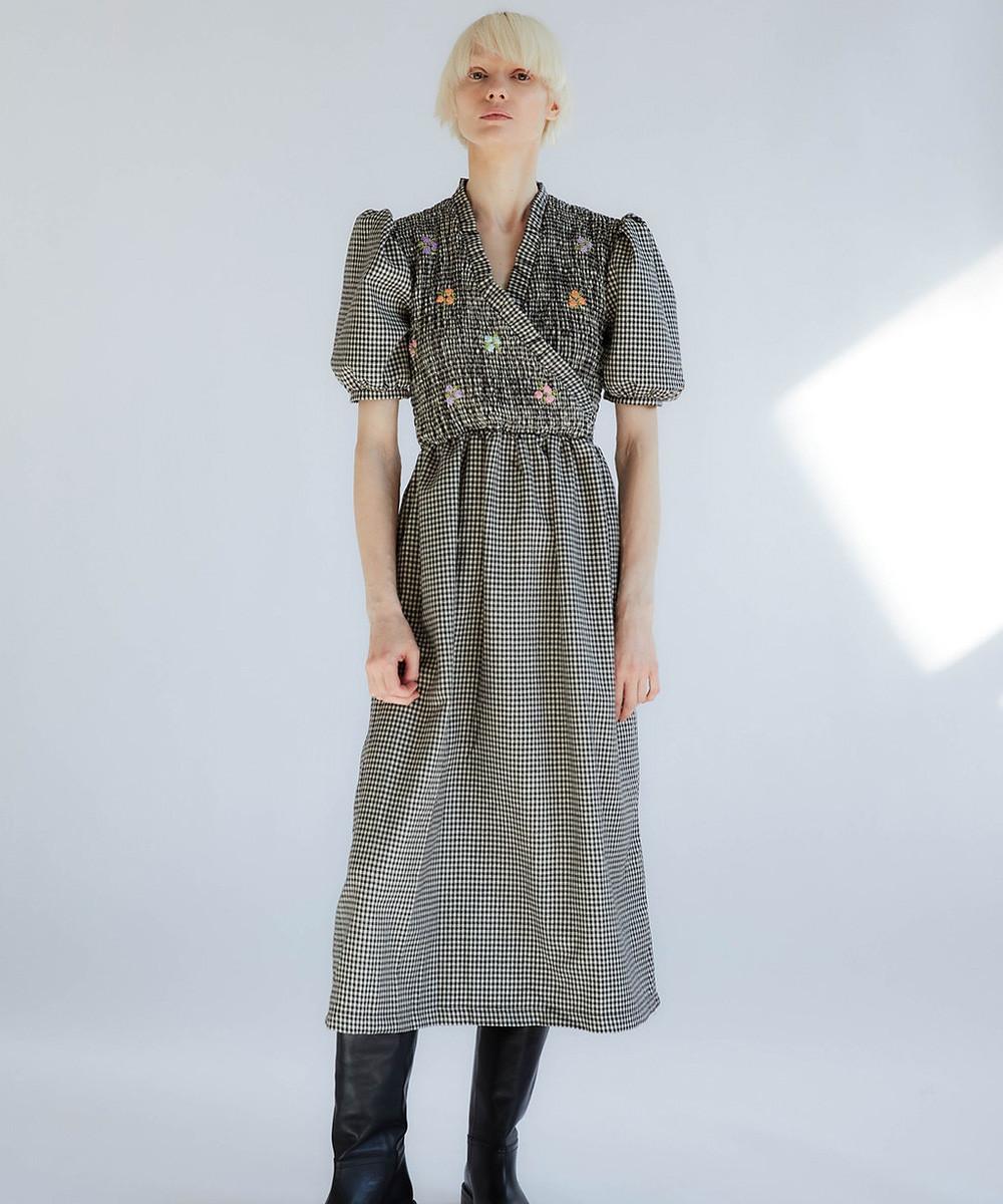 Adelfa Smoked Dress
