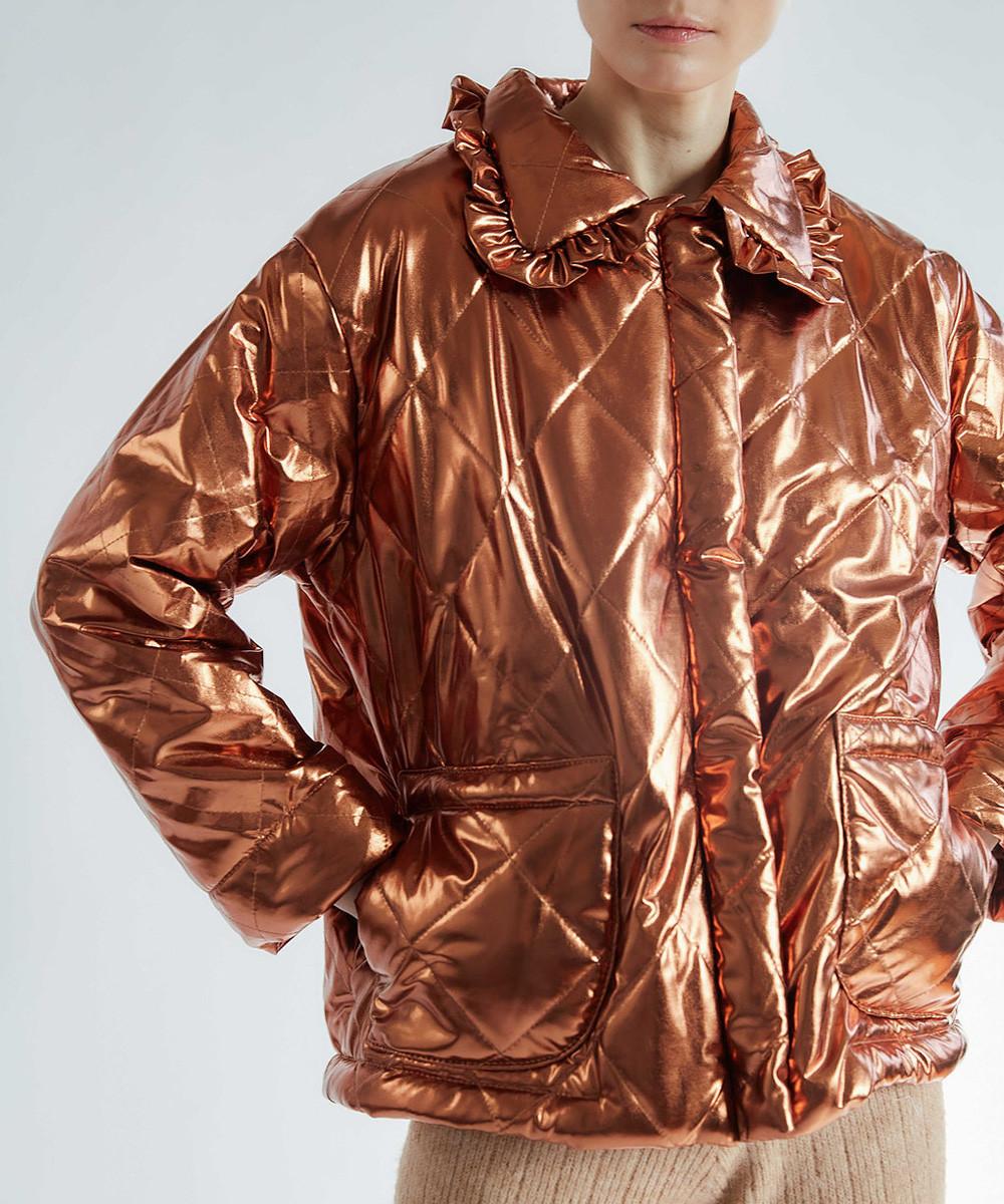 Geo Metallic Jacket
